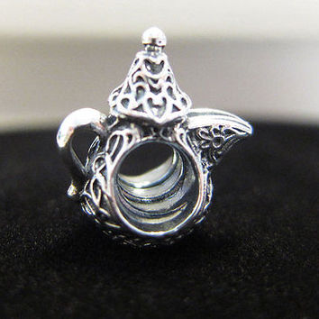 Authentic Pandora ARABIAN COFFEE POT (DALLAH) charm 791756 NEW