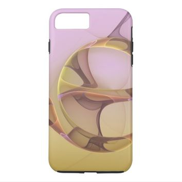 Abstract Motions Modern Fractal Art iPhone 7 Plus Case