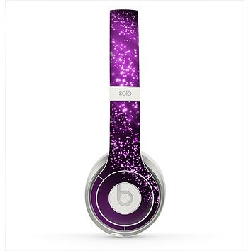 The Shower of Purple Rain Skin for the Beats by Dre Solo 2 Headphones
