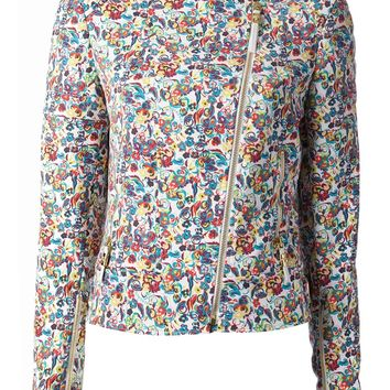 Versace Liberty Flower Printed Jacket