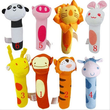 Cute Baby Educational Toys BIBI Stick Grip Newborn Baby Dolls  Animal Design [8833430092]