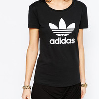 """Adidas"" Women Fashion Print T-Shirt Top Tee"