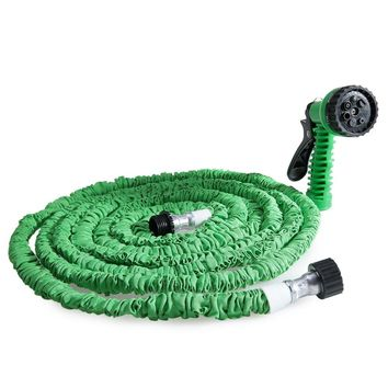 50FT Expandable Garden Hose Pipe with 7 in 1 Spray Gun