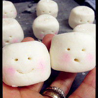 Bubbly  Solid Bar - Marshmallow Peppermint Bubbly SoapMuchLove Solid Bar