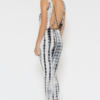 Sweet Freedom Tie-Dye Jumpsuit - FINAL SALE