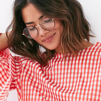 Vintage Professor Round Readers | Urban Outfitters