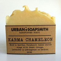 Karma Chameleon - Cold Process Soap, Bar Soap, Hand and Body Soap, Handmade Soap, Men's Soap, Unisex Soap