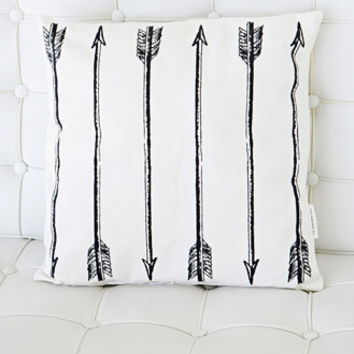 Rise and Fall Arrows Pillow