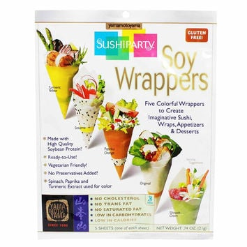 Large Sheet Sushi Party Soy Wrappers by Yamamotoyama 0.74 oz
