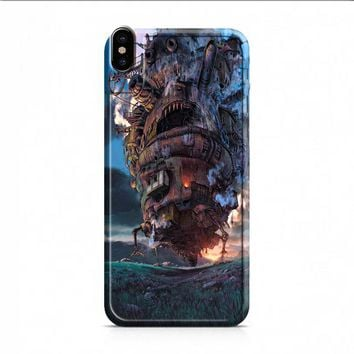 Howls Moving Castle Case 2 iPhone X case
