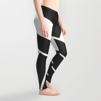 MAKES YOU GO AROUND Leggings by Chrisb Marquez | Society6