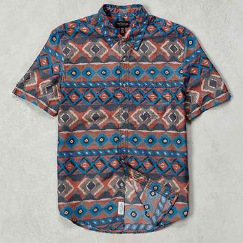 CPO Painted Ikat Short-Sleeve Button-Down Shirt