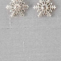 SNOWMASS SNOW FLAKE STUDS