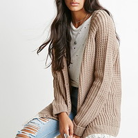 Crochet-Trimmed Cardigan