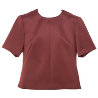 Cameo Blank Page Wine-Colored Top