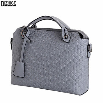 2016 Fashion Small Bags For Women Pu Leather Hnadbags Embossed Satchel Brand Messenger Bag Women Famous ladies tote Handtasche