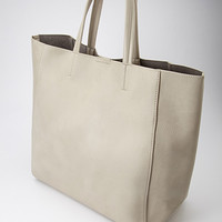 Faux Leather Crossbody and Tote