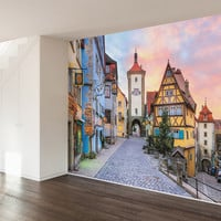 Rothenburg ob der Tauber Wall Mural Decal