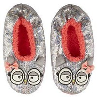 Owl Sequin Cozy Slippers | Girls Decor & Accessories Room | Shop Justice