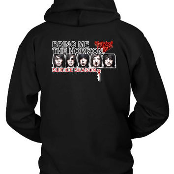 Bring Me The Horizon Suicide Season Hoodie Two Sided
