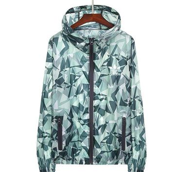 """Adidas"" Women Fashion Zip Cardigan Jacket Coat Sweatshirt Army green"