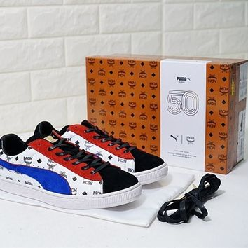 Mcm X Puma Suede Mcm Suede Classic Sneakers #2424