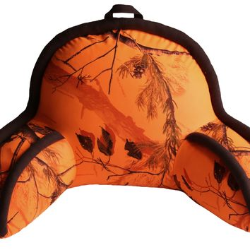 Realtree Blaze Orange Lounge Pillow