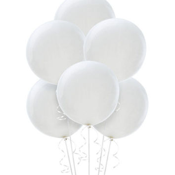 White Balloons- Party City