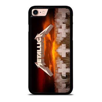METALLICA MASTER OF PUPPETS iPhone 8 Case Cover