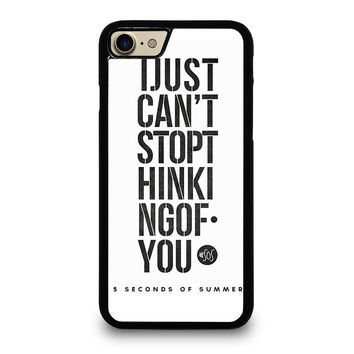 5 SECONDS OF SUMMER 6 5SOS iPhone 7 Case Cover