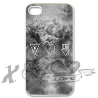 the neighbourhood X&TLOVE DIY Snap-on Hard Plastic Back Case Cover Skin for Apple iPhone 4 4G 4S - 2722