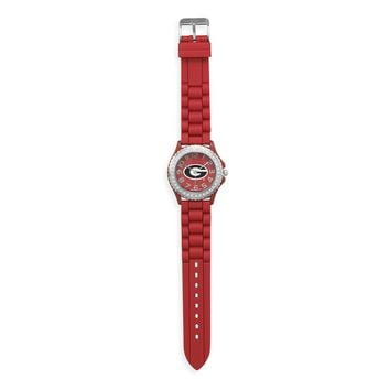 Collegiate Licensed University of Georgia Ladies' Fashion Watch