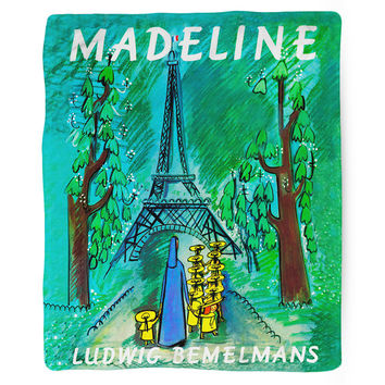 Madeline, Fleece Blanket, Printed in USA