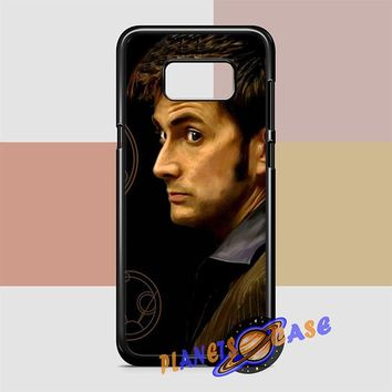 Tenth Doctor With Gallifreyan Samsung Galaxy S8 Case Planetscase.com