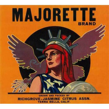 Majorette Orange Label, 1930