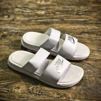 Nike Benassi Swoosh Sandals Style #8 Slippers - Best Online Sale