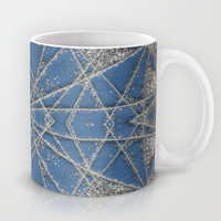Snowflake Blue Mug by Project M