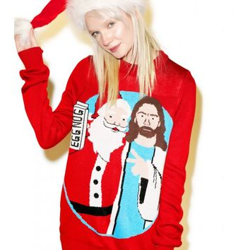 Tipsy Elves Jingle Bros Sweater | Dolls Kill