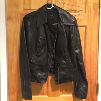 Express Leather Jacket (Small/Indie Brands)