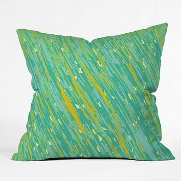 Rosie Brown April Showers Throw Pillow