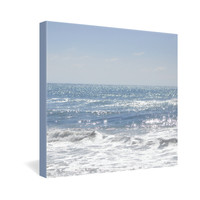 Lisa Argyropoulos Crystal Blue Gallery Wrapped Canvas
