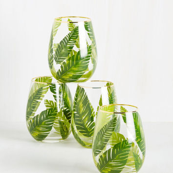 Leaf the Fest to Me Glass Set | Mod Retro Vintage Kitchen | ModCloth.com