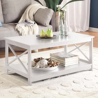 Convenience Concepts Oxford Coffee Table, Multiple Colors - Walmart.com