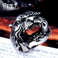 Tiger Ring Stainless Steel