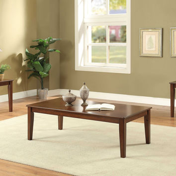 ACME Marilla 3 Piece Pack Coffee and End Table Set in Cherry