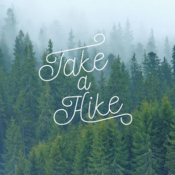 Take a Hike Decal / Nature Decals / Laptop Decals / Car Decals / Adventure Decals / Computer Decal / MacBook Decals / Window