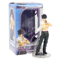 22cm Anime Fairy Tail Gray Fullbuster Action Figure PVC  The Collectible Model Toys Collection Toys for Christmas Gift