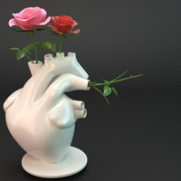 Flower Pump by VENERIDESIGN on Shapeways