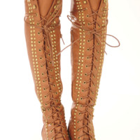 RESTOCK: Escape From The City Boots: Cognac