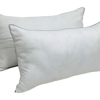 Set of 2 - Dream Deluxe - Ultimate Gel Fiber Bed Pillows - Medium Density